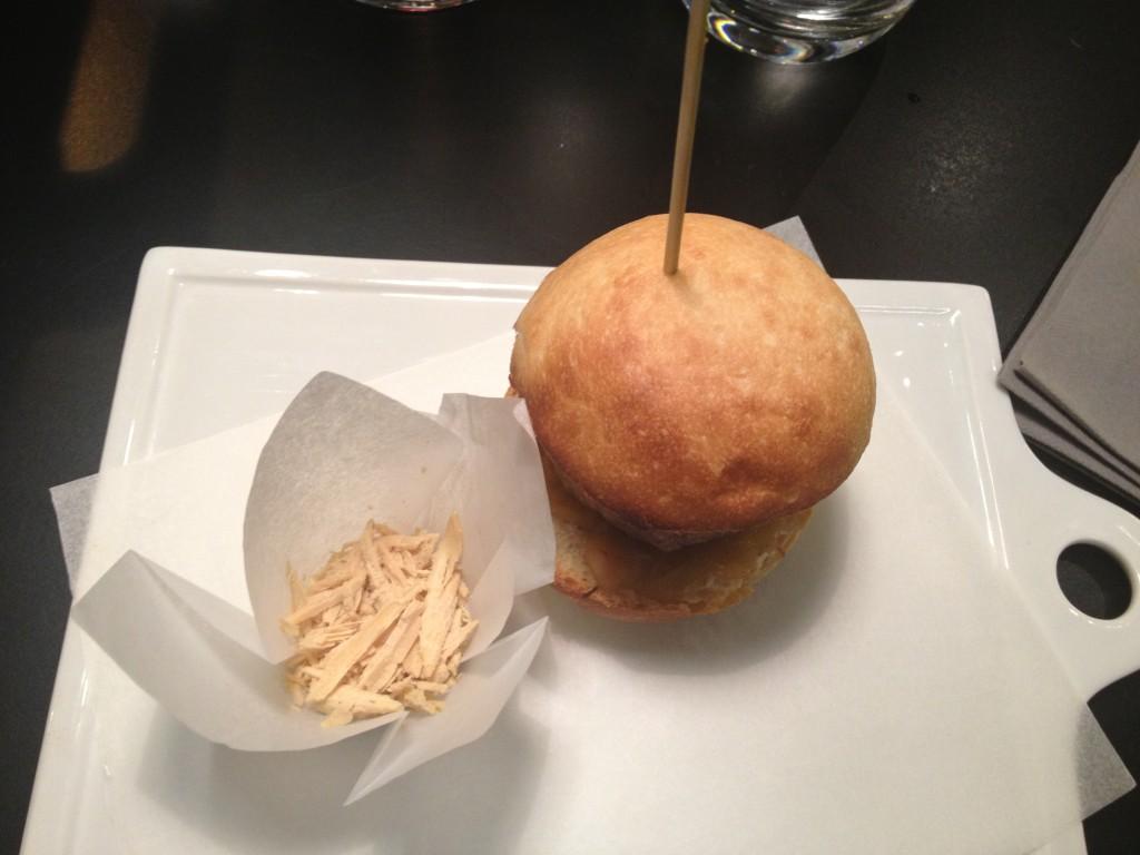 burger med foie gras